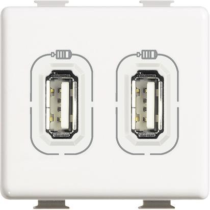 CARICATORE USB 2P 2400 MA 5V - BTI AM5285C2