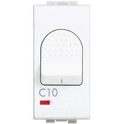 LIGHT - MAGNETOTERMICO 1P+N 10A 3KA - BTI N4301/10