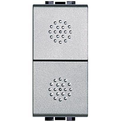 LIGHT TECH - DOPPIO PULSANTE 1 P NO 16A - BTI NT4036