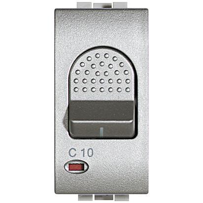 LIGHT TECH - MAGNETOTERMICO 1P +N 10A 3KA - BTI NT4301/10