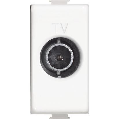 MATIX - PRESA TV DIRETTA 1M BIANCO - BTI AM5202D