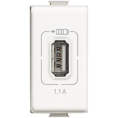 MATIX - USB CHARGER 1,1A WHITE - BTI AM5285C1