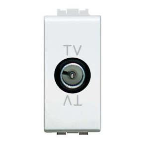 LIGHT - PRESA TV PASSANTE MASCHIO - BTI N4202P