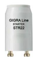 STARTER PER LAMPADE FLUORESCENTI BILAMPADA TIPO ST22 - HOM STR22