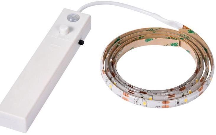 STRIP LED 1 MT CON SENSORE DI PROSSIMITA'4000K - THI SL1S2835/BN