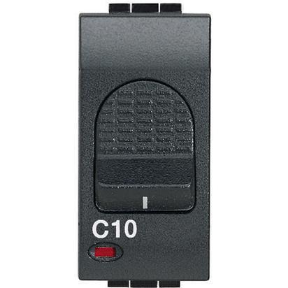 LIVING INT - MAGNETOTERMICO 1P+N 10A 3KA - BTI L4301/10