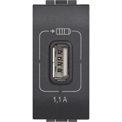 LL - USB CHARGER 1,1A ANTRACITE - BTI L4285C1