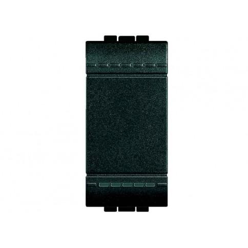 LL - PULSANTE 1P NO 10A 1M ANTRACITE - BTI L4005N