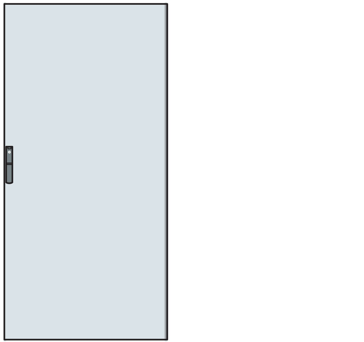 PORTA CIECA X STRUTTURA H=1400 - ABB PC1401