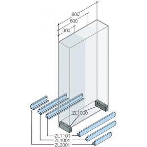 FLANGE STRUTTURA L=890MM - ABB ZL1101
