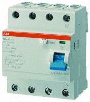 F204 AC-80/0,3 DIFFERENZIALE PURO 4P F204 - ABB F429170