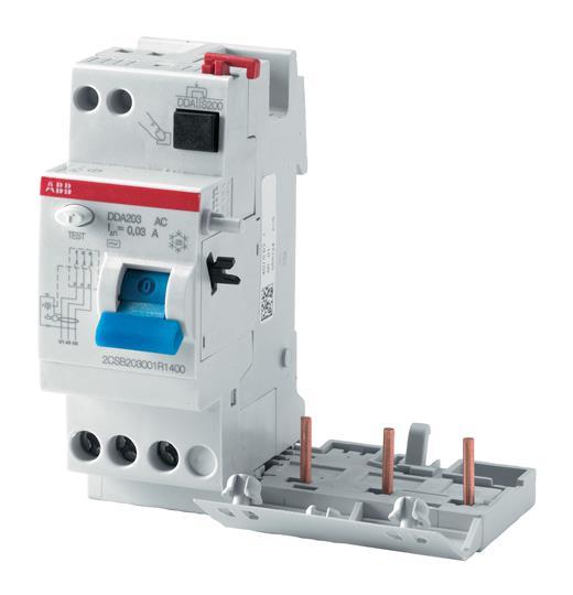 DS204 AC C50 30MA DIFFERENZIALE MAGNETOTERMICO QUADRIPOLARE - ABB R428743