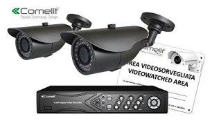KIT VIDEOSORVEGLIANZA: AHD, 1 DVR + 2 TELECAMERE AHCAM6 - COM AHKIT080C
