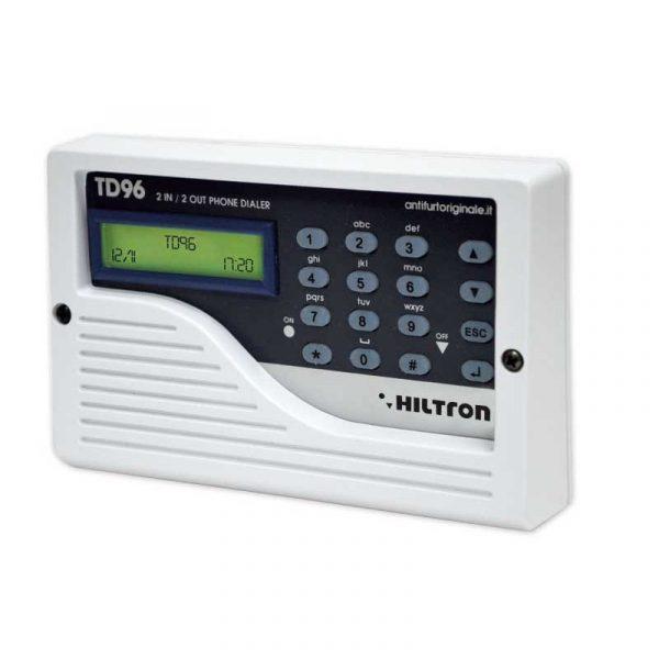 Combinatore telefonico 2in 2o ut pstn hiltron srl td96 for Combinatore telefonico auto