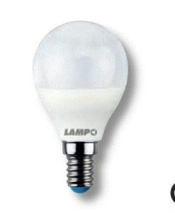 LAMPADA LED LAMPO 6W E14 230V 220° 6000K - LAMPO SNC SF456WE14BF