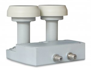 CONVERTITORE LNB UX-MBTW6 DUAL FEED 2 USCITE - FRA 287140