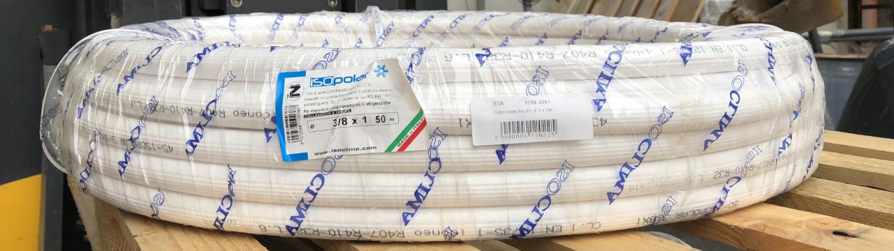 TUBO RAME PER CONDIZIONAMENTO 3/8 X 1 - IDRAULICA 3739.53X1
