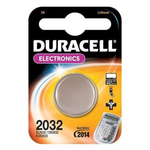 BATTERIA LITIO CR 2032 3V - DURACELL CR2032
