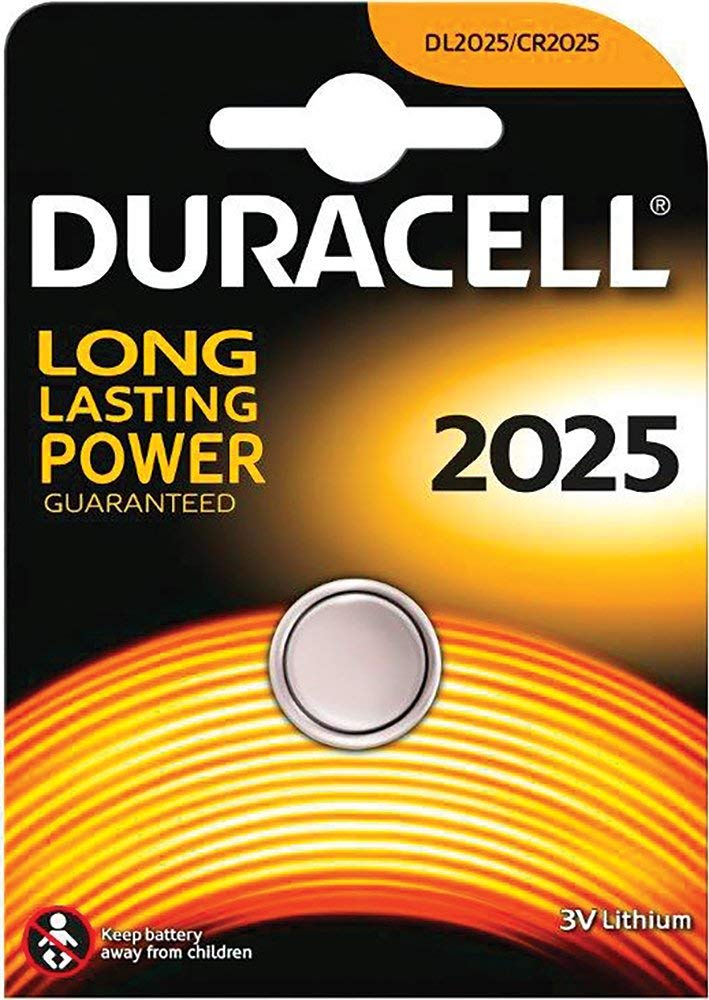 DURACELL CR2025 - BATTERIA AL LITIO - DURACELL CR2025