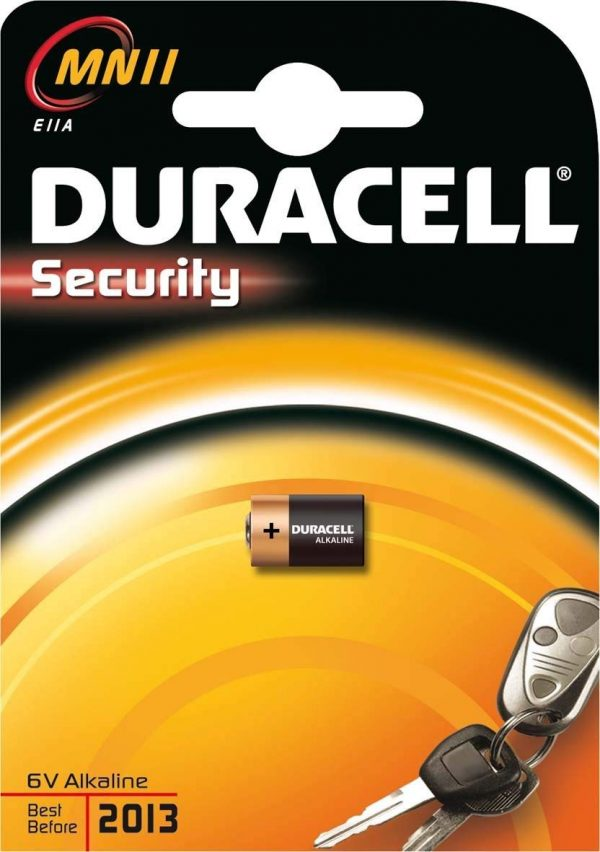 DURACELL SECURITY - BATTERIA ALCALINA MN11, 1 PZ - DURACELL MN11