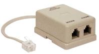 FILTRO ADSL 2 USCITE PLUG - POLIPLAST SRL 800123
