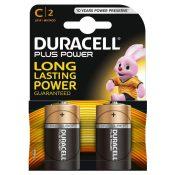 DURACELL PLUS POWER BATTERIE ALCALINE, MEZZATORCIA, C - DURACELL MN1400