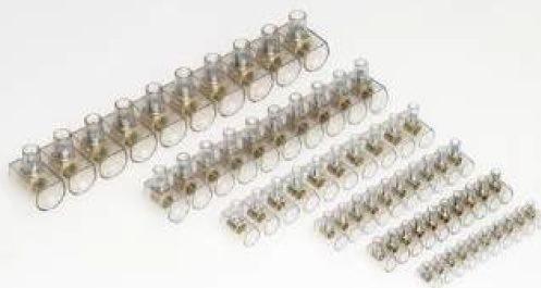 MORSETTO UNIPOLARE STECCA DA 10 POLI X 2 ,5MMQ - GIGRA LINE HC025