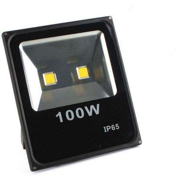 PROIETTORE LED BIANCO FREDDO 3000K 100W NERO IP65 - GIGRA LINE FLB100/830