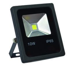 PROIETTORE LED BIANCO CALDO 6000K 10W NERO IP65 - GIGRA LINE FLB10/860
