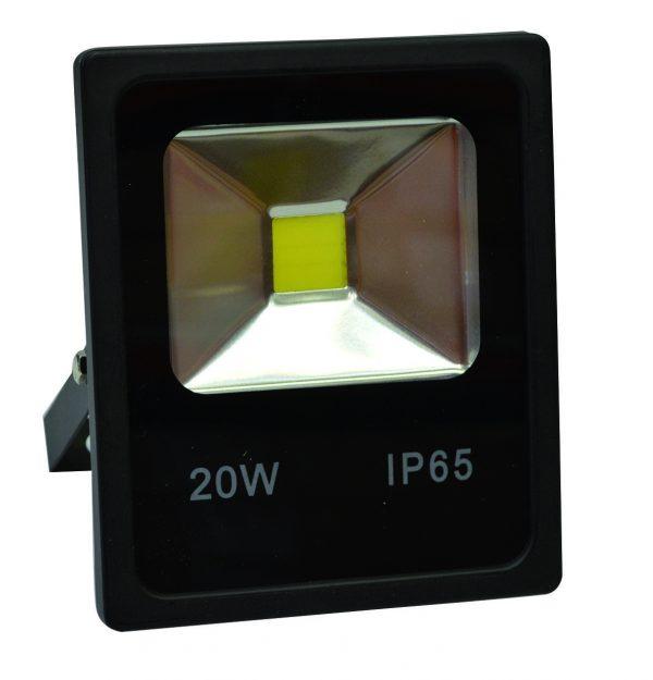 PROIETTORE LED BIANCO FREDDO 3000K 20W NERO IP65 - GIGRA LINE FLB20/830
