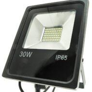 PROIETTORE LED BIANCO CALDO 6000K 30W NERO IP65 - GIGRA LINE FLB30/860