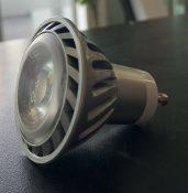 LAMPADA A LED 7W 230V GU10 BIANCO CALDO 50X58 - GIGRA LINE COBGU107BCV