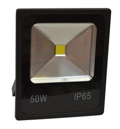 PROIETTORE LED BIANCO FREDDO 3000K 50W NERO IP65 - GIGRA LINE FLB50/830