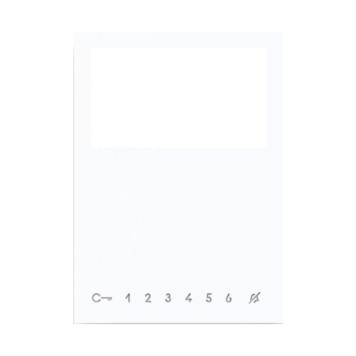 KIT PULSANTI AGGIUNTIVI MONITOR MINI COLORE WHITE - COMELIT 6733W