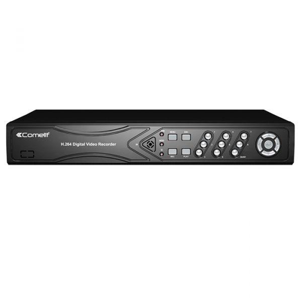 DVR 5-HYBRID,8 ING. FULL-HD,120 IPS,HDD 1TB - COMELIT AHDVR082B