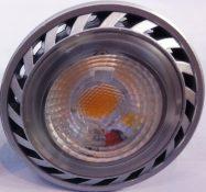 LED COB GU10 B/CALDO 7W 230V - GIGRA LINE COBGU107BFN