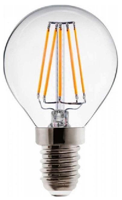 LAMPADA FILO LED SFERA 4W E14 B/FREDDO 6000°K - GIGRA LINE SFM4BF