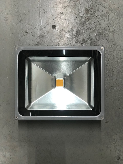 PROIETTORE LED 2700K 50W SILVER - GIGRA LINE FLEP/50/BC