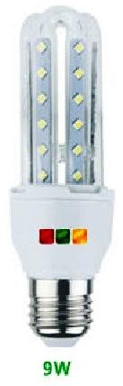 LAMPADA 3 TUBI LED E27 9W 3000°K - GIGRA LINE TL09E/830
