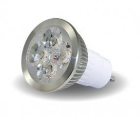 LAMPADA A LED SPOTLIGHT GU10 4x2W BIANCO FREDDO 6000°K - GIGRA LINE MLSAGU1042BF
