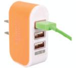 CARICABATTERIE USB 3,1A 3 PORTE - KIT GIGRA LINE CBUSB3A