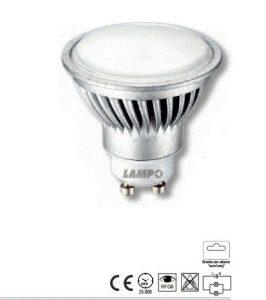 LAMPADA LED 7.5W GU10 LUCE BIANCO CALDO - LAMPO SNC DIKLED7.5W230VBC