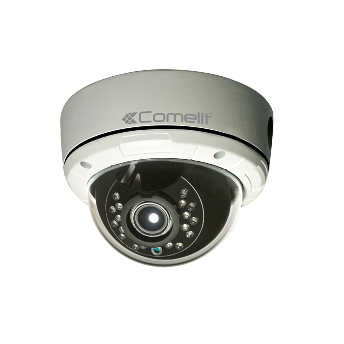 TELECAMERA IP VANDALD. FULL-HD,2.8-12MM,IR15M,IP65 - COMELIT IPCAM168A