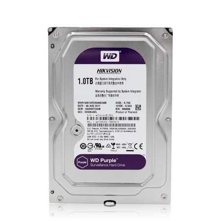 "HARD DISK HD SATA 6GB/S 3.5"" 1TB WD10PURX - HIKVISION - HIKVISION HI303800454"