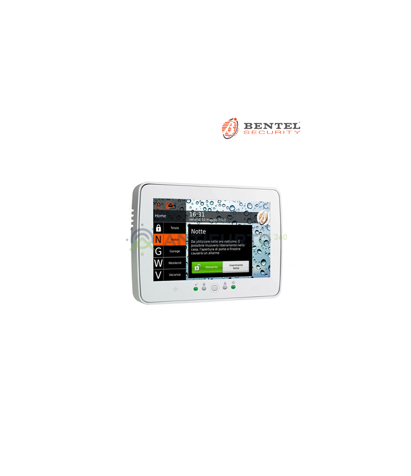 TASTIERA TOUCH - BENTEL M-TOUCH - BENTEL SECURITY M-TOUCH