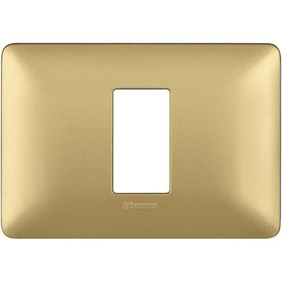 PLACCA 503 1 MODULO GOLD - BTICINO LEGRAND AM4803M1MGL