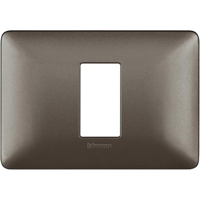 PLACCA 503 1 MODULO IRON - BTICINO LEGRAND AM4803M1MIR
