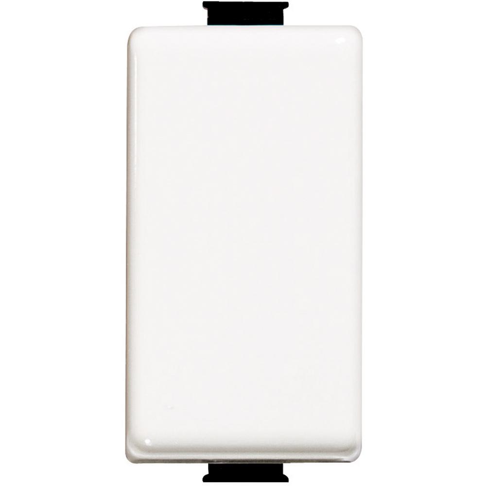 pulsante 2P 10A 250V ac con 2 contatti NO - colore bianco - BTICINO LEGRAND AM5054