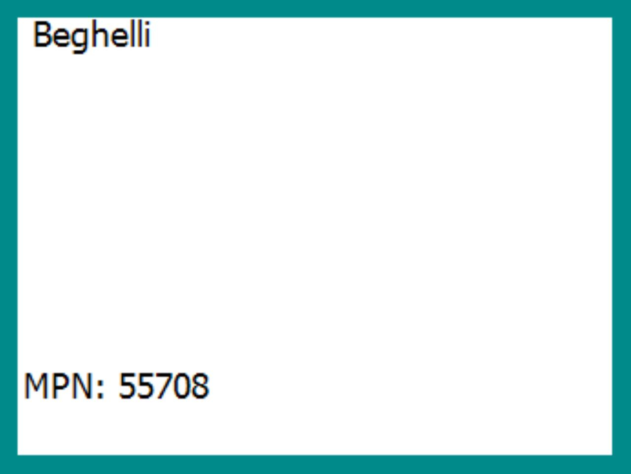 BEG 55708 - FORMA SPOT R80 60W 230V E27 - BEGHELLI 55708