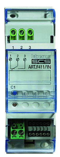 ATTUATORE A 1 RELE 2 MODULI BTICINO - BTICINO LEGRAND F411/1